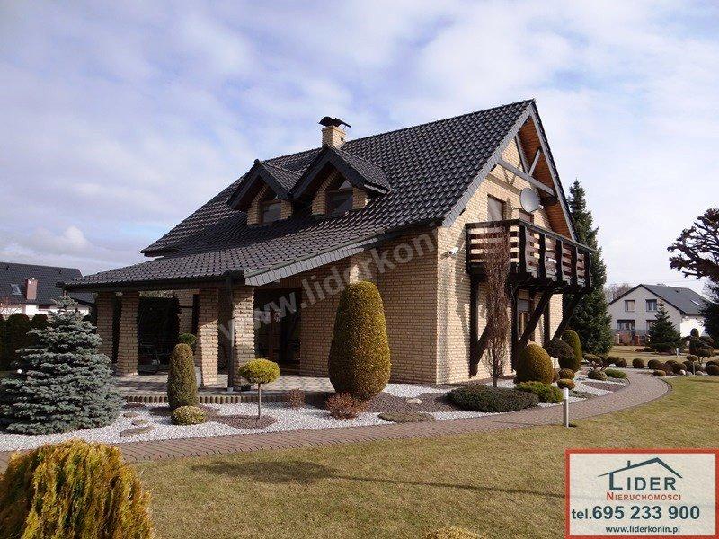 Sprzedam atrakcyjny dom + budynek biurowy – Licheń Stary