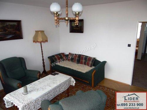 Rozkładowe mieszkanie z balkonem – 2 pok., Konin, os. Zatorze