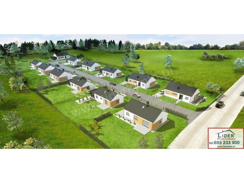 NOWE domy w Żychlinie (5km od Konina)